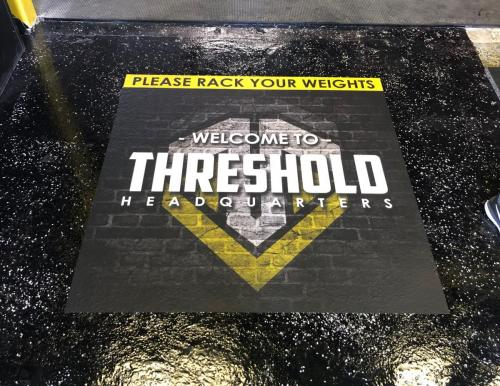 thq-floor sticker